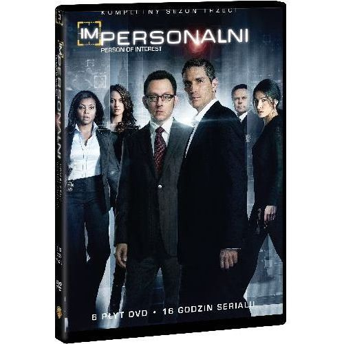 Impersonalni: Sezon 3 (DVD) - Chris Fisher, Richard J. Lewis, Fred Toye i inni (7321909332133)