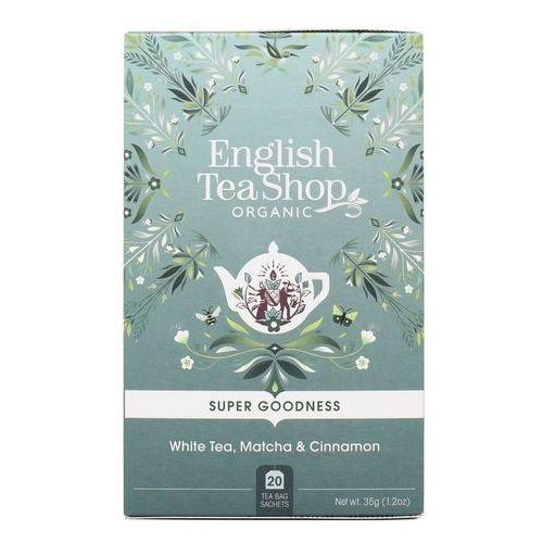 Herbata biała z cynamonem, matcha i imbirem 20x1,75g bio 35 g p marki English tea sho