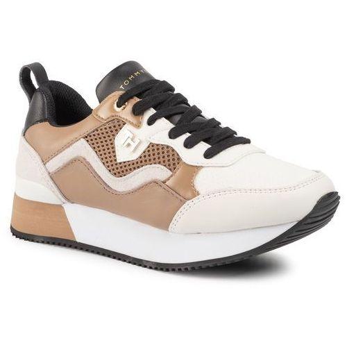 Sneakersy TOMMY HILFIGER - Tommy Dress City Sneaker FW0FW04604 Tiger's Eye GEZ