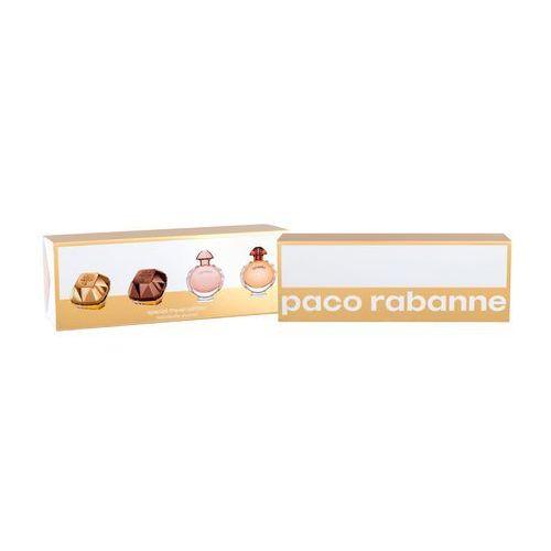 Paco rabanne mini set zestaw 22 ml edp lady million 5 ml + edp lady million prive 5 ml + edp olympea 6 ml + edp olympea intense 5 ml dla kobiet (3349668559794)