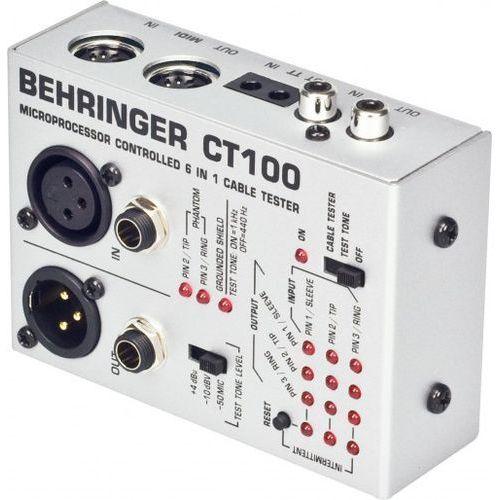 ct100 - tester kabli marki Behringer