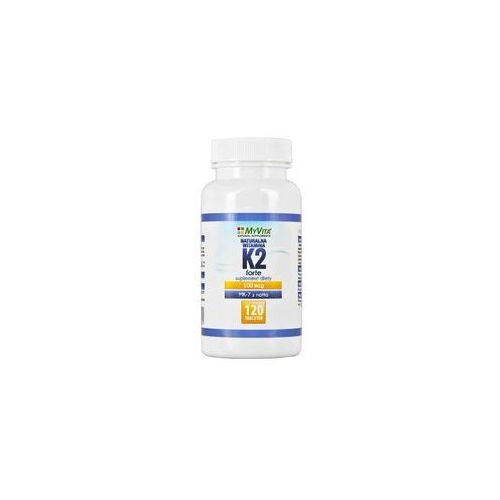 Myvita Naturalna witamina k2 mk-7 100mcg 120 tabletek