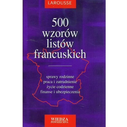 500 wzorów listów francuskich (8321412416)