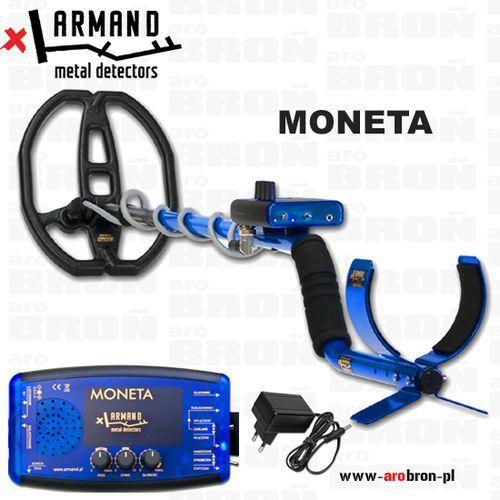Wykrywacz metali Armand MONETA - NOWOŚĆ - zasilanie akumulatorowe, przeznaczony do monet i biżuterii (wykrywacz metali)