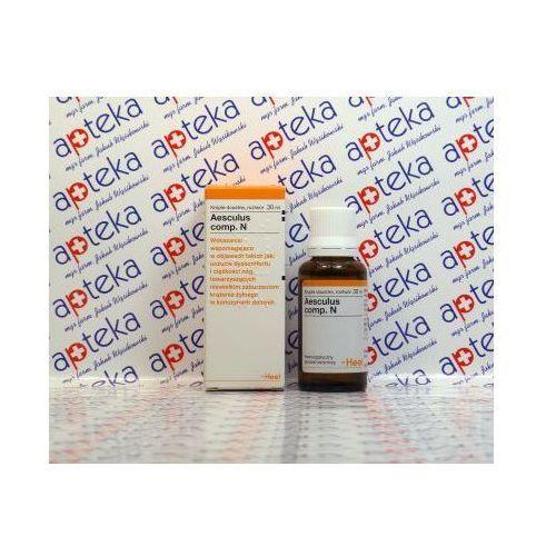 Oferta HEEL Aesculus Compositum N krople 30 ml - zaburzenia krążenia obwodowego Kurier: 13.75, odbiór osobisty: GRATIS! (Homeopatia)