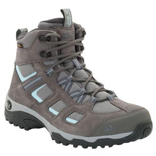 Jack wolfskin Buty trekkingowe damskie vojo hike 2 texapore mid w tarmac grey - 5 (4060477090979)