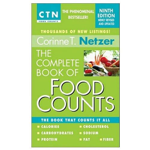 Complete Book Of Food Counts, 9th Edition (9780440245612)