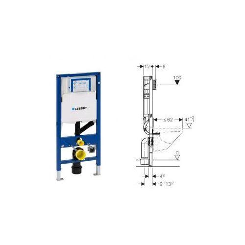 Geberit Duofix do WC, z odciągiem, Sigma, H112 111.370.00.5 - produkt z kategorii- Stelaże i zestawy podtynkowe