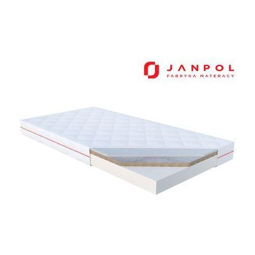 Janpol toni – materac dziecięcy, lateksowy, rozmiar - 70x140, pokrowiec - puroactive wyprzedaż, wysyłka gratis (5906267404634)