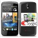 HTC Desire 500, Czarny-dystrybucja PL Sygic nawigacja GPS dla życia