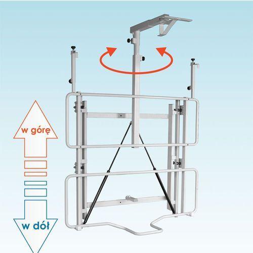 Uchwyt ścienny do tablicy z regulowaną wysokością i wysięgnikiem do projektora uvis-rw50 marki Mentor