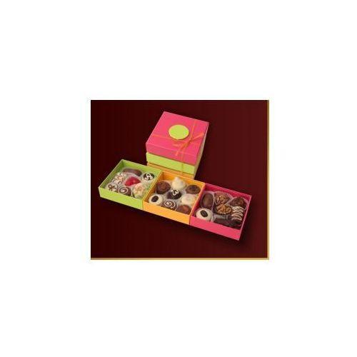Carmag polska Czekoladki kolorowe wiosenne trio z czekoladkami