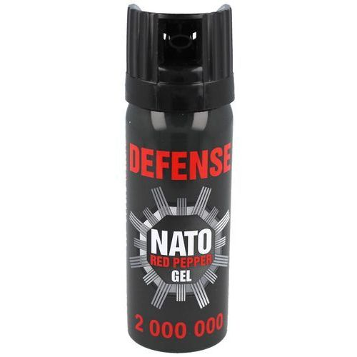 Gaz pieprzowy sharg defence nato military gel 50ml cone (41050-c) marki Sharg products group