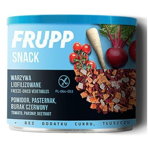 Frupp snack liofilizowane warzywa pomidor, pasternak, burak 30g (5900038003361)