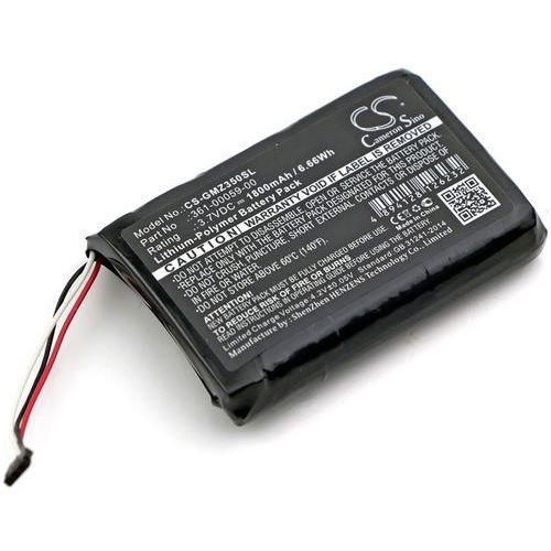 Garmin ZUMO 350LM / 361-00059-00 1800mAh 6.66Wh Li-Polymer 3.7V (Cameron Sino), CS-GMZ350SL