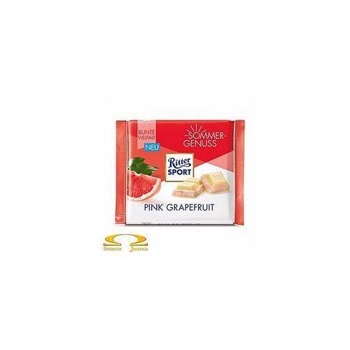 Czekolada Ritter Sport Pink Grapefruit 100g, CA20-37897