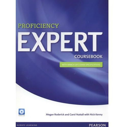 Proficiency Expert, Coursebook (podręcznik) with Audio Cds (9781447937593)