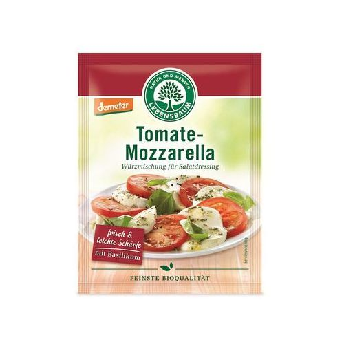 Lebensbaum (przyprawy, herbaty, kawy) Sos sałatkowy w proszku pomidory i mozzarella bio 3 x 5 g - lebensbaum (4012346161808)