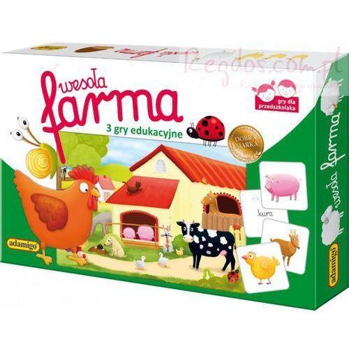 Wesoła farma loteryjka obrazkowa marki Adamigo