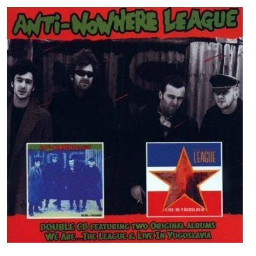 Anti-nowhere league - we are...the league / live in yugoslavia marki Cherry red