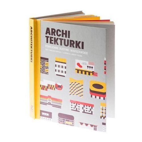 Książka dla dzieci Archi Tekturki Powojenne Budynki Warszawskie (9788364308017)