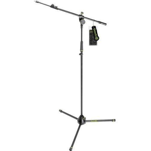 Gravity Statyw mikrofonowy ms 4322 b, 103 ‑ 169 cm, czarny/zielony