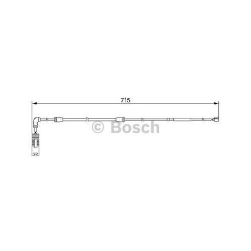 Bosch Styk ostrzegwaczy, zużycie okładzin hamulcowych 1 987 474 946 (3165143649534)