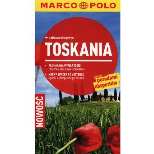 Toskania. Przewodnik Marco Polo Z Atlasem Drogowym, oprawa miękka