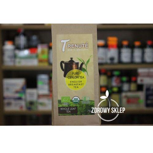 Herbata czarna english breakfast bio 75 g - t'renute marki T'renute (herbaty)