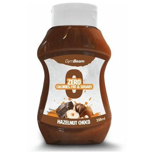 Gymbeam syrop bez kalorii o smaku czekolady i orzechów laskowych 350 ml