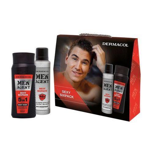 Dermacol Men Agent Sexy Sixpack 5in1 zestaw 250 ml dla mężczyzn (8595003110709)