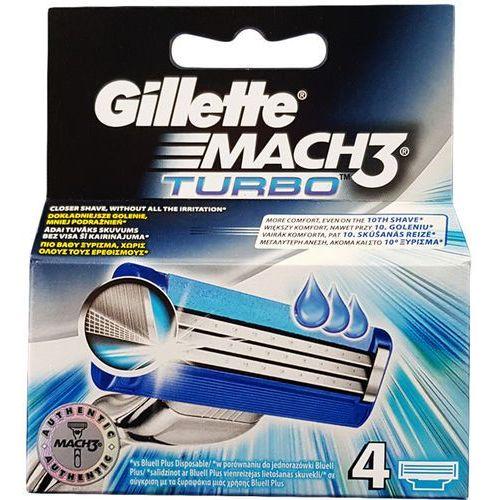 Wkłady MACH 3 TURBO do maszynek Gillette szt. 4