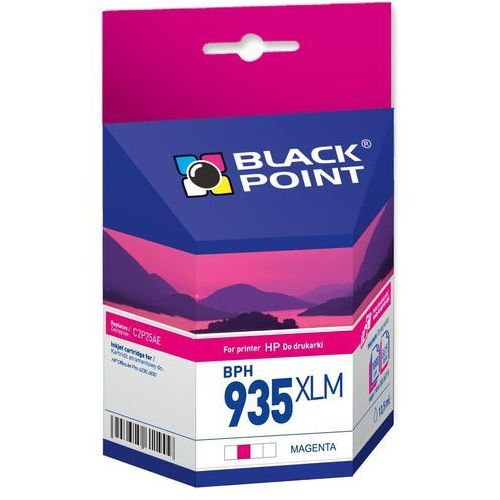 Wkład atramentowy BLACK POINT BPH935XLM Zamiennik HP 935XL