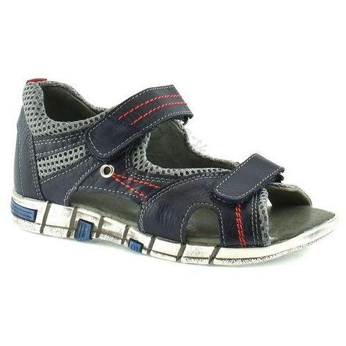 Sandały Kornecki 04760 - Szary ||Granatowy, kolor szary