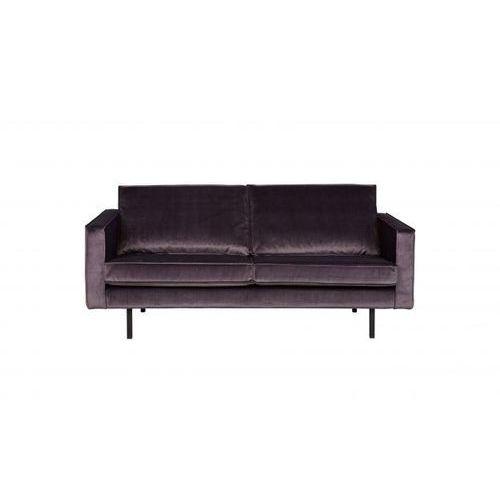 Be Pure Sofa RODEO 2,5-osobowa aksamitna ciemnoszara 67 800542-G, kolor szary