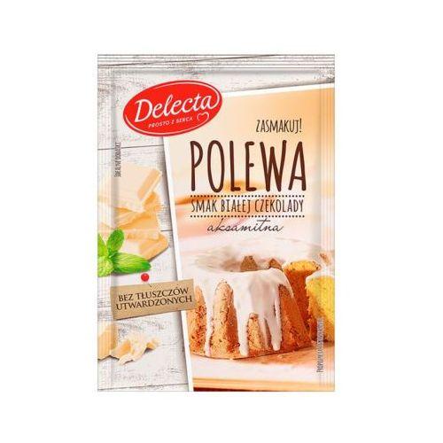 DELECTA 100g Polewa smak białej czekolady