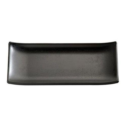 Półmisek prostokątny z melaminy 225x95 mm, czarny | , zen marki Aps