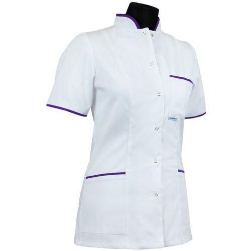 Dlapacjenta.pl - odzież medyczna Bluza medyczna dla pielęgniarki - damska (kołnierz stójka) 009+