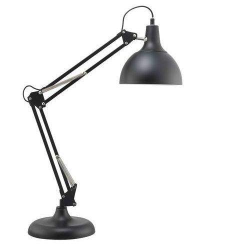 Stojąca LAMPKA biurkowa DAVE 7901104 Spotlight stołowa LAMPA metalowa na regulowanym ramieniu czarna