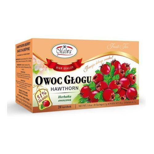 Malwa Herbata owoc głogu 20*2g