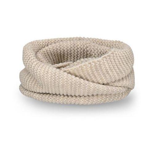 Pamami Komplet , czapka, komin i rękawiczki - beżowy - beżowy (5902934055345)