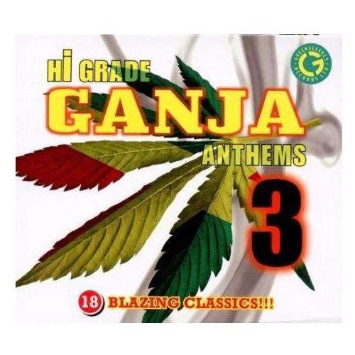 Hi grade ganja anthems 3 - różni wykonawcy (płyta cd) marki Greensleeves