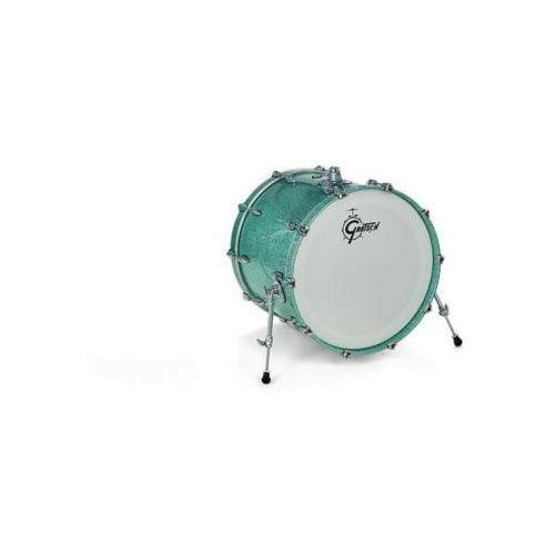 Gretsch Bass Drum NEW Renown Maple 2016 Turquoise Premium Sparkle