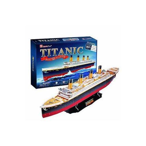 Neuveden Puzzle 3d titanic - 113 dílků