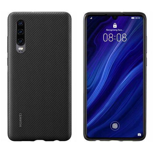 Huawei p30 pu cover - black (6901443291533)