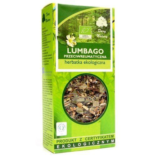 POLECANA PRZY CHOROBACH REUMATYCZNYCH LUMBAGO EKO 50g - Dary Natury herbata (5902741005069)