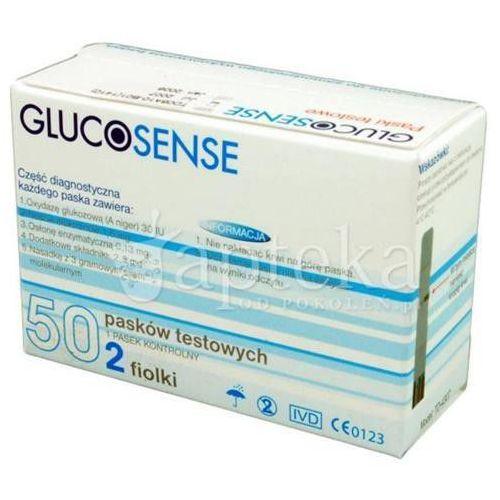 Glucosense elektroda enzym.test pask.x 50 (pasek testowy)