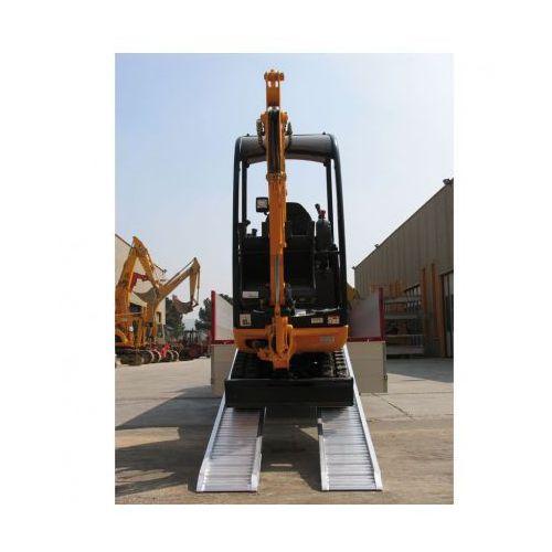 Rampa najazdowa prowadząca dla minimalnej szerokości koła lub taśmy 200 mm marki Metalmec