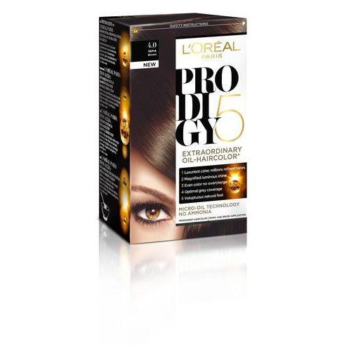 Farba do włosów Prodigy 5 Hair – 4.0 Brąz, L'Oréal