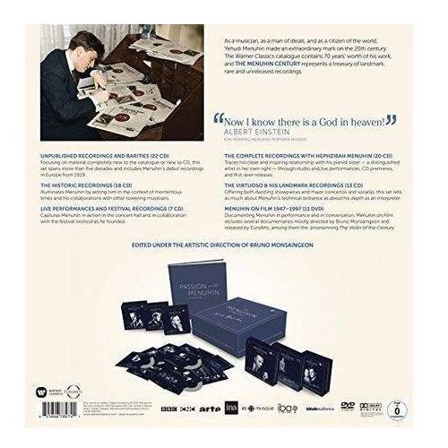 The Menuhin Century: Luxury Edition (80 Cds & 11 Dvds) (Limited), 2564678274